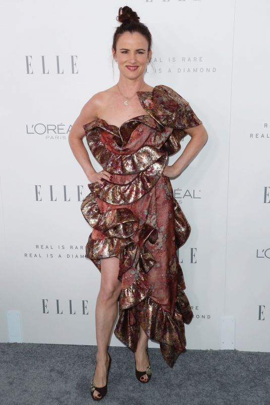 JULIETTE LEWIS at Elle Women in Hollywood Awards in Los Angeles 10/16/2017