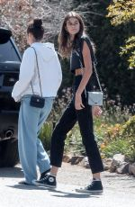 KAIA GEBRER Out and About in Malibu 10/06/2017