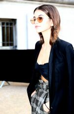 KAIA GERBER Arrives at Chanel Fashion Show in Paris 10/03/2017
