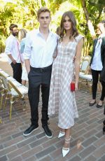 KAIA GERBER at Cfda/Vogue Fashion Fund Show and Tea in Los Angeles 10/25/2017