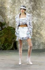 KAIA GERBER at Chanel Fashion Show at Paris Fashion Week 10/03/2017