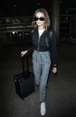 KAIA GERBER at LAX Airport in Los Angeles 10/04/2017