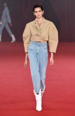 KAIA GERBER at Off-white Fashion Show in Paris 09/28/2017