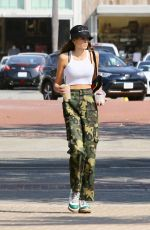 KAIA GERBER at Sunlife Organic Juice Shop in Malibu 10/09/2017