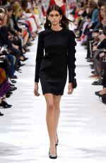 KAIA GERBER at Valentino Fashion Show in Paris 10/01/2017