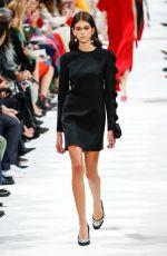 KAIA GERBER at Valentino Runway Show at Paris Fashion Week 10/01/2017