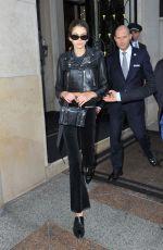 KAIA GERBER Leaves Her Hotel in Paris 10/03/2017