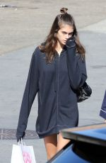KAIA GERBER Out and About in Malibu 10/15/2017