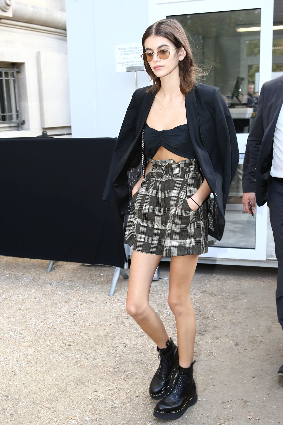 ca0890fa38 KAIA GERBER Out and About in Paris 10 03 2017 - HawtCelebs