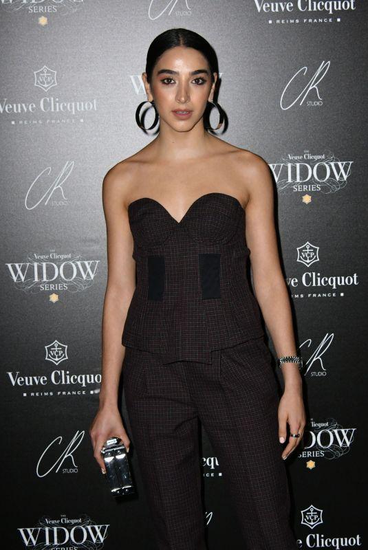 KARA MARNI at Veuve Clicquot Widow Series VIP Launch Party in London 10/19/2017