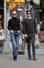 KARLIE KLOSS and Joshua Kushner Out in New York 10/22/2017