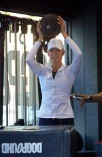 KARLIE KLOSS at a Gym in New York 10/19/2017