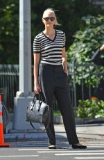 KARLIE KLOSS Out and About in New York 10/04/2017