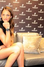 KAROLINA PLISKOVA at New Hublot Ambassador in Prague 10/11/2017
