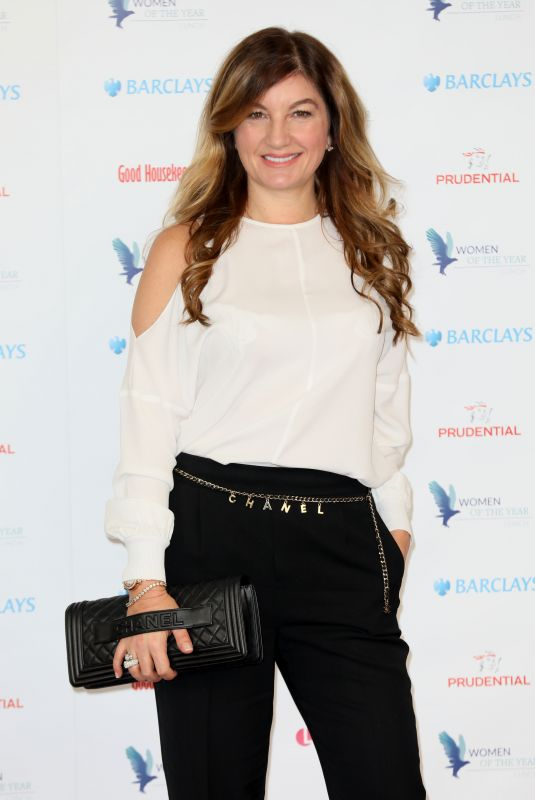 KARREN BRADY at Women of the Year Lunch in London 10/16/2017