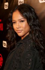 KARRUECHE TRAN at TBS' Drop the Mic and the Joker's Wild Premiere Party in Hollywood 10/11/2017