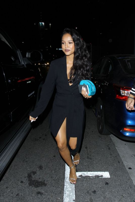 KARRUECHE TRAN Night Out in Hollywood 10/04/2017