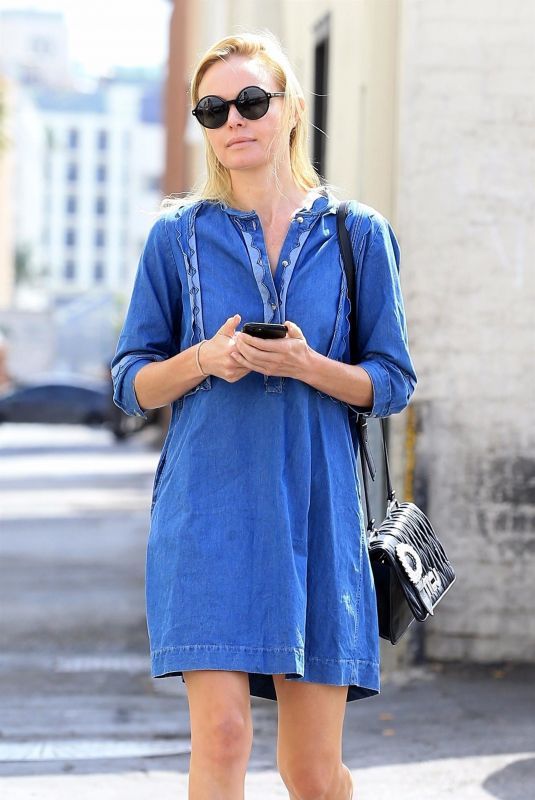 KATE BOSWORTH Out and About in Beverly Hills 10/03/2017