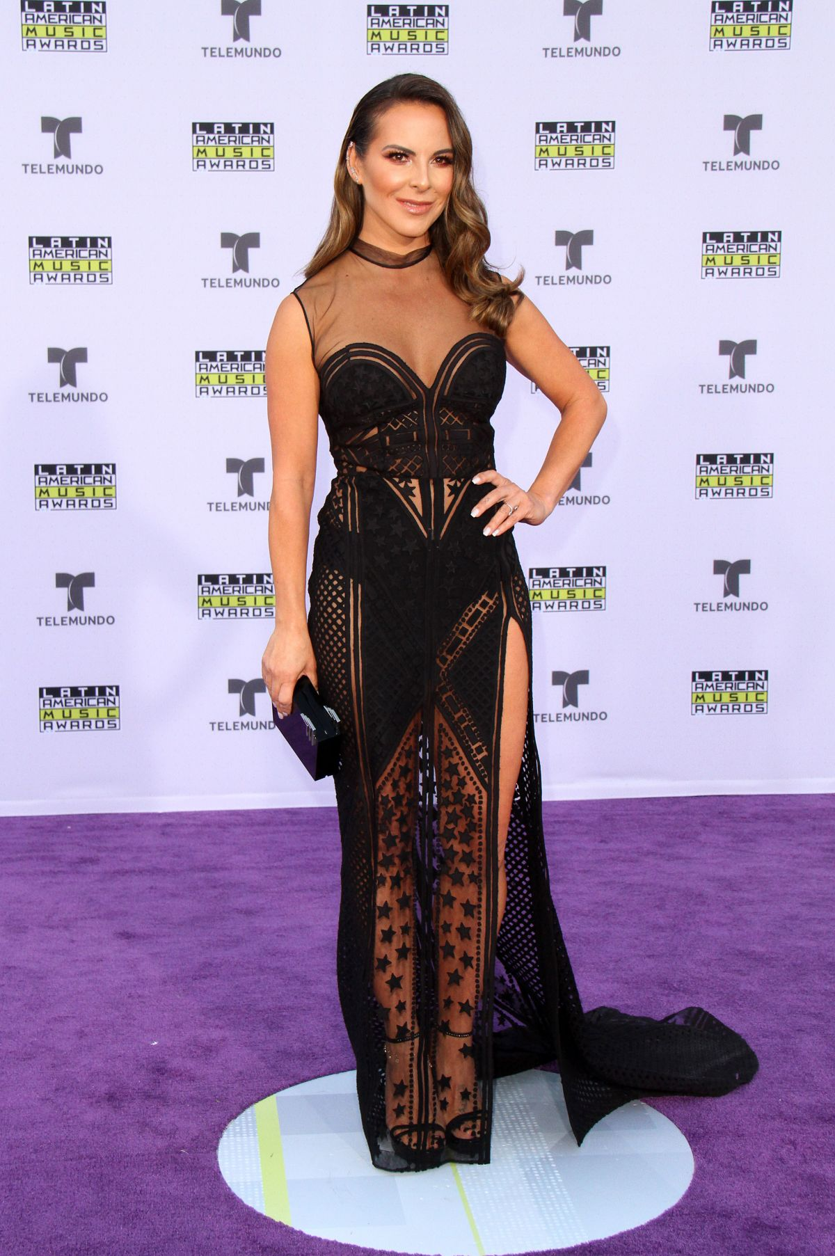 KATE DEL CASTILLO at 2017 Latin American Music Awards in ...