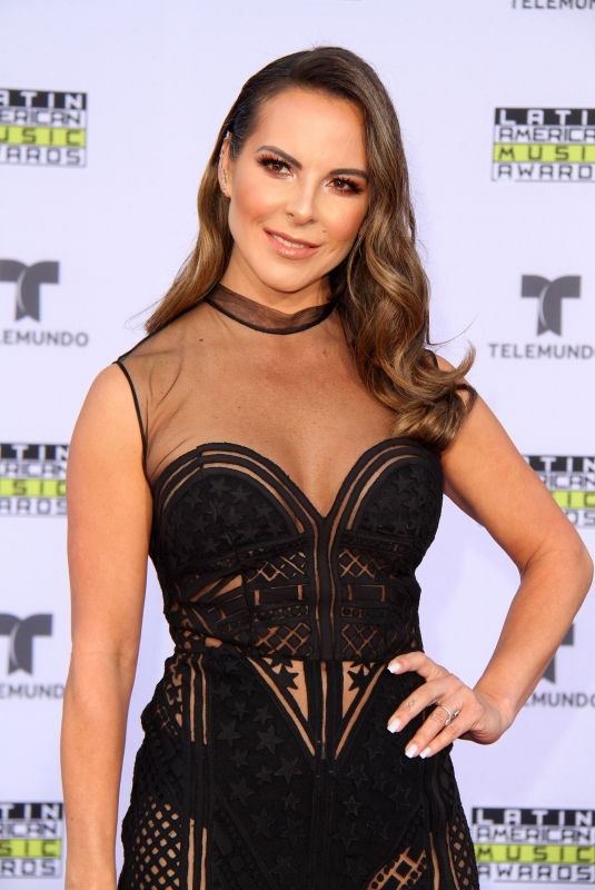 KATE DEL CASTILLO at 2017 Latin American Music Awards in Hollywood 10/26/2017