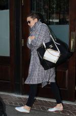 KATE HUDSON Leaves Her Hotel in New York 10/17/2017