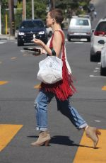 KATE HUDSON Out and About in West Hollywood 10/10/2017
