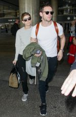 KATE MARA and Jamie Bell Out in Los Angeles 10/13/2017