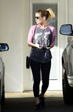 KATE MARA Leaves Ballet Bodies Dance Studio in Los Angeles 10/16/2017