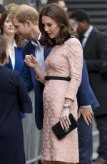 KATE MIDDLETON at a Charities Forum Event at Paddington Station in London 10/16/2017
