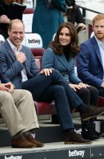 KATE MIDDLETON at Coach Core Graduation Ceremony in London 10/18/2017