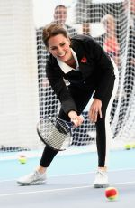KATE MIDDLETON at Lawn Tennis Association in London 10/31/2017