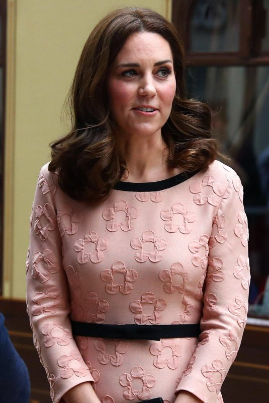 KATE MIDDLETON at Paddington Train Station in London 10/16/2017