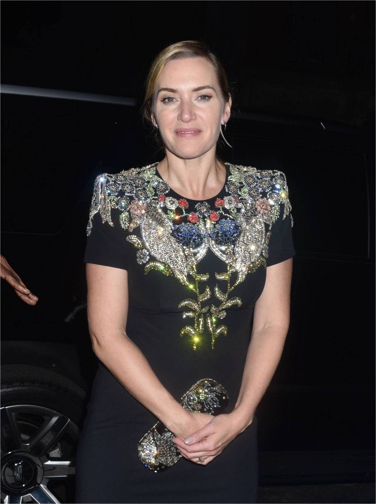 KATE WINSLET and Ned Rocknroll Out in New York 10/14/2017 ...
