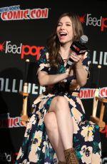 KATELYN NACON at TWD Panel at New York Comic-con 10/07/2017