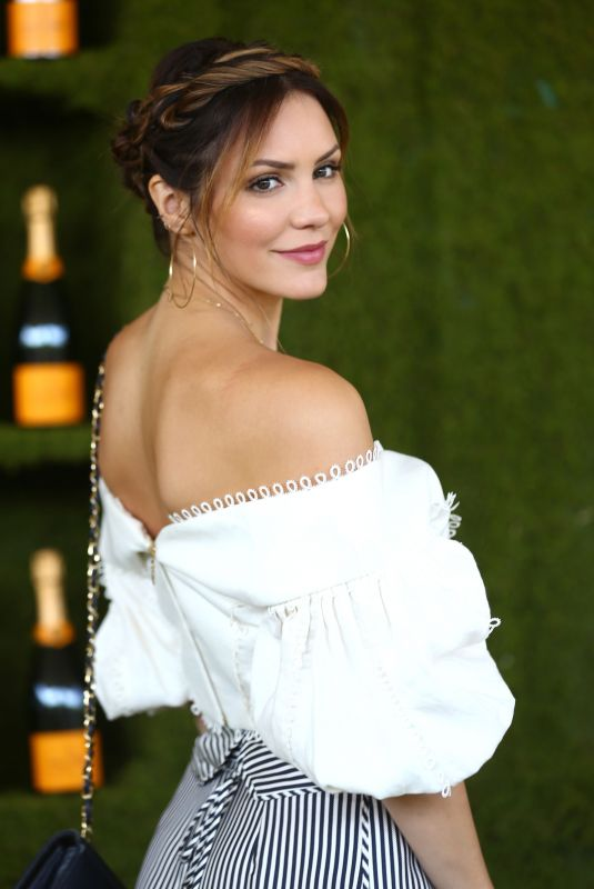 KATHARINE MCPHEE at 8th Annual Veuve Clicquot Polo Classic in Los Angeles 10/14/2017