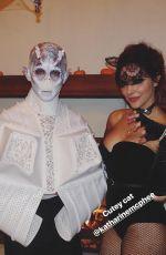 KATHARINE MCPHEE at Catwoman at a Halloween Party 10/28/2017