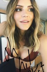 KATHARINE MCPHEE on the Set of a Photoshoot, 10/01/2017