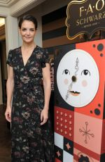 KATIE HOLMES and Fao Schwarz Unveil New Holiday Collection in New York 10/24/2017