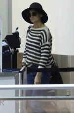 KATIE HOLMES Arrives at LAX Airport in Los Angeles 10/19/2017