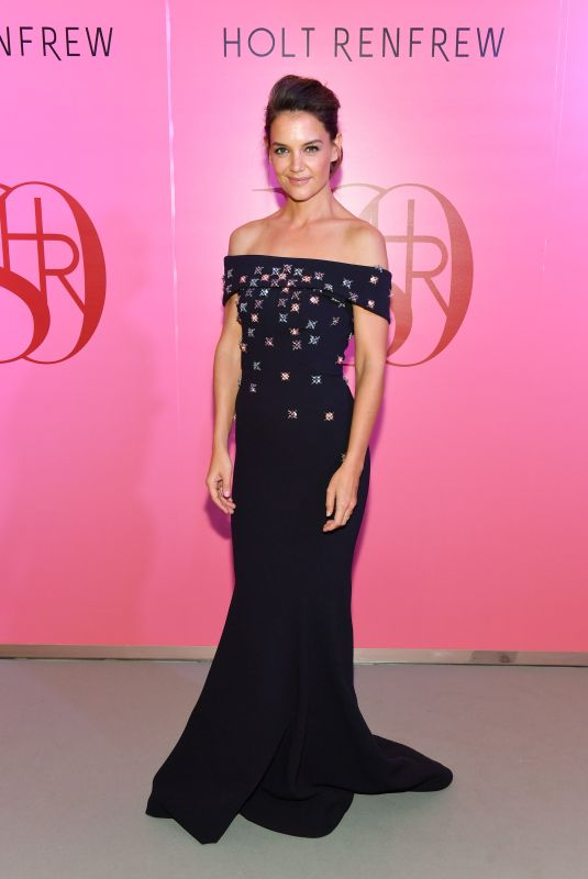KATIE HOLMES at Holt Renfrew 180th Anniversary in Toronto 10/12/2017