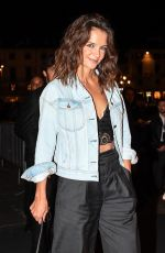 KATIE HOLMES at Intimissimi on Ice in Verona 10/06/2017