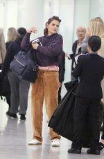 KATIE HOLMES at Toronto Airport 10/12/2017