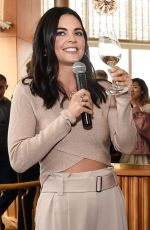 KATIE LEE at Food Network & Cooking Channel New York City Wine & Food Festival 10/15/2017