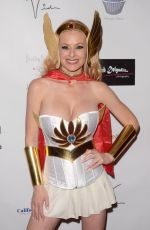 KATIE LOHMAN at Halloween Hotness 4: Heating Up for the Cure in Hollywood 10/15/2017
