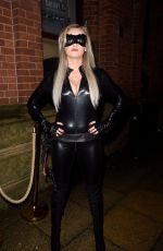 KATIE MCGLYNN at a Halloween Party in Essex 10/28/2017