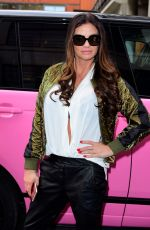 KATIE PRICE Arrives at AOL Building in London 10/20/2017