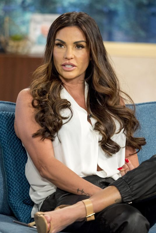 KATIE PRICE at This Morning TV Show in London 10/20/2017