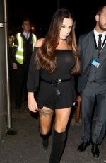 KATIE PRICE Night Out in London 10/07/2017