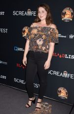 KATIE STOTTLEMIRE at Tragedy Girls Premiere at Screamfest Horror Film Festival in Los Angeles 10/15/2017