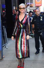 KATY PERRY Arrives at Good Morning America in New York 10/04/2017